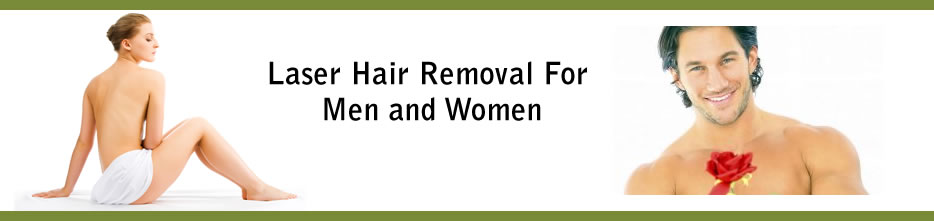 Laser Hair Removal for Men & Women